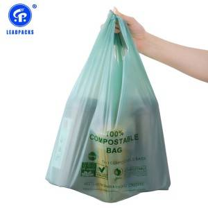 Compostable T-shirt Bag