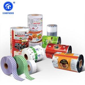 Automatic Packing Film Rolls