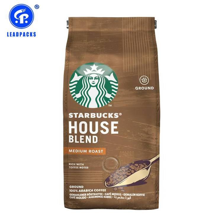 OEM/ODM Manufacturer Zip Lock Pouch Bags - Coffee Packaging Bag –  Leadpacks detail pictures