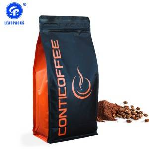 OEM/ODM Supplier Zipper Lock Pouch - Coffee Packaging Bag –  Leadpacks