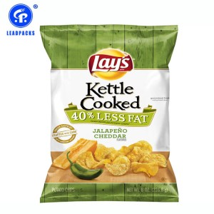 Good Quality Laminated Bag - Potato Chips Snacks Packaging Bag –  Leadpacks