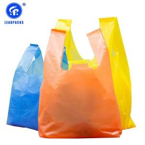 OEM Supply Plastic Bags For Clothes - Plastic T-shirt Shopping Bag –  Leadpacks