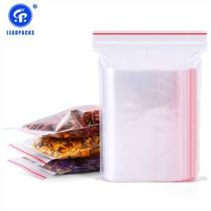 2020 Good Quality Zipper Lock Bag - Plastic Zip Lock Bag –  Leadpacks