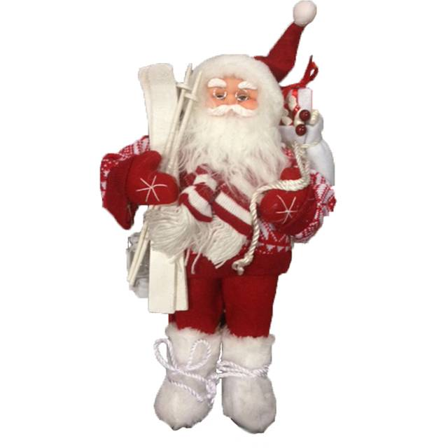 Cheap price custom handmade fabric plush christmas santa