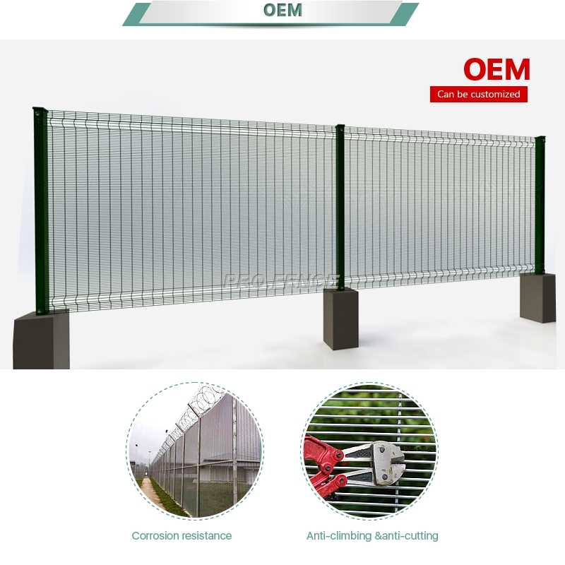 358 High security wire mesh fence for prisons application, building fencing for property security