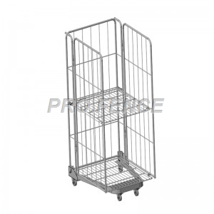 A Frame Metal Security Logistics Wire Mesh Roll Cage