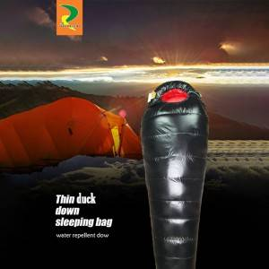 2020 manufacturer superior 90% down filled sleeping bags with competitive price
