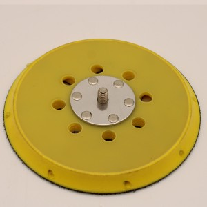 Dual Actional Sander Backing Pad with Side Hole