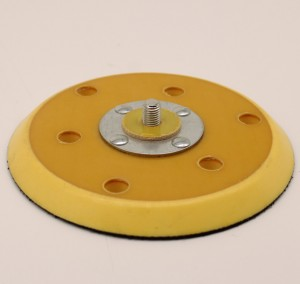 18 Years Factory Small Hand Sander - Yellow Backup Pad Abrasive Disc – Xieyanshi