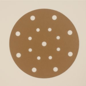 Hot Sale for Sandpaper Cleaner - Sanding Disc Holes Gold Sanding paper for Polishing Car and Metal -A720T – Xieyanshi