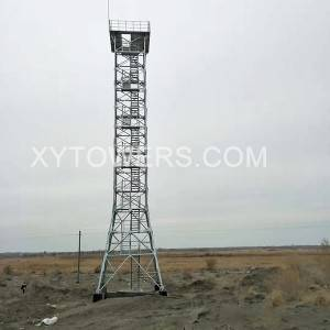 China Cheap Electricity Pylons Factory –  Prairie watch tower – X.Y. Tower