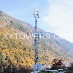 telecom guyed tower