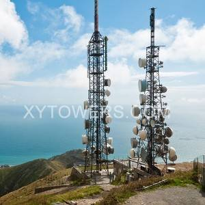 China High Quality Telecom Tower Companies Suppliers –  mountaintop telecom tower – X.Y. Tower