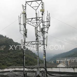 China High Quality Telecommunication Tower Factory –  rooftower 12m – X.Y. Tower