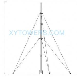 High Quality Microwave Antenna Manufacturers –  telescopic mast – X.Y. Tower