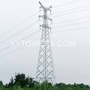 330kV double loop Y-type line tower