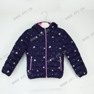 OEM Girls Knitted Dress Factories - Girl's padded jacket FH-110 – Xiyingying