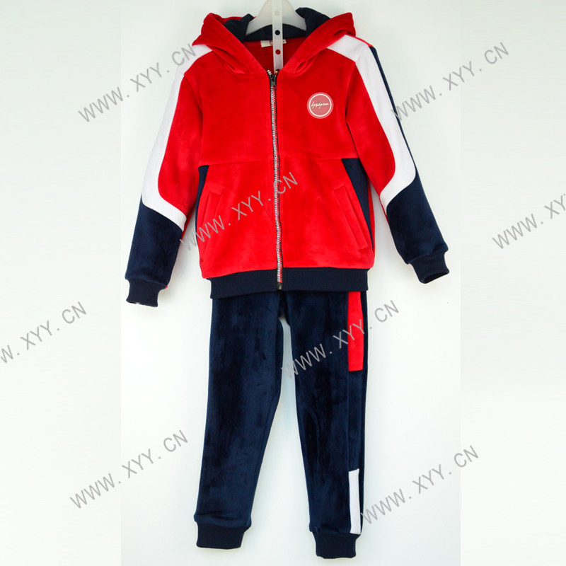 2020 Good Quality Girls Blue Tshirt - Boy's hoodie and pants SH-1048 – Xiyingying
