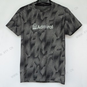 Men's thin fashion casual short-sleeved T-shirt  SH-695
