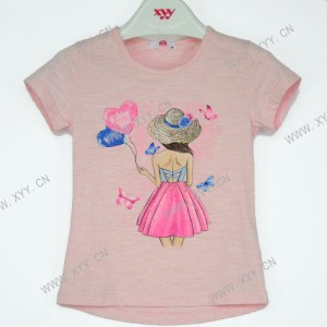 Girl's t-shirt s/s  LY-617
