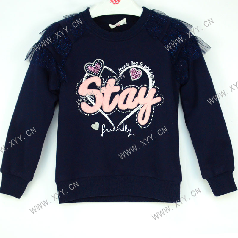 China  Best Girls School Uniform Factory - Girl's sweatshirt LY20-040 – Xiyingying