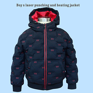 China  Best Boys Long Sleeve Polo Shirt Suppliers - Boy's laser punching and heating jacket/DK-005 – Xiyingying