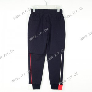 Boys red and white piping trousers fashion trend all-match casual pants sports pants SH-1058