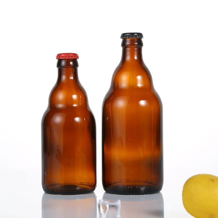 Cheap Swing Top Beer Bottle Manufacturers - wholesale amber empty glass beer bottles with metal crown cap – Chuancheng