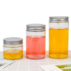 Wholesale round shape Honey Bottle storage jars