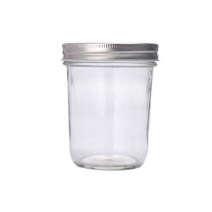 Wholesale caviar glass bottle Jam Glass Jar transparent glass storage bottle sealed bottle