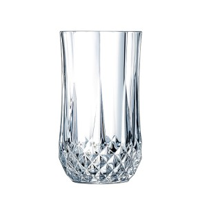 Wholesale Diamond glass beer glass juice cup  thick heat resistant glass