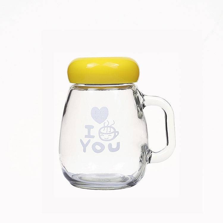 Wholesale Glass Bottle Suppliers - 350ml Glass teacup penguin Cup gift advertising cup custom LOGO  – Chuancheng Featured Image