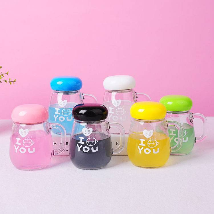Wholesale Glass Bottle Suppliers - 350ml Glass teacup penguin Cup gift advertising cup custom LOGO  – Chuancheng
