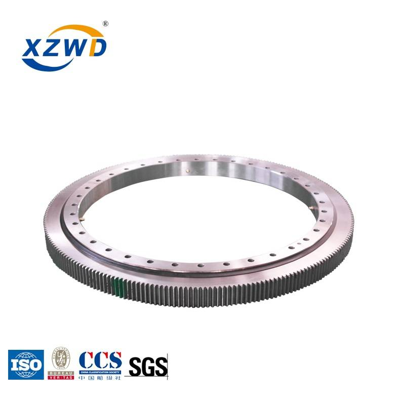 Factory wholesale Machine Slewing Bearing - Light type Slewing Bearing with External gear (WD-061) for Food machinery – Wanda
