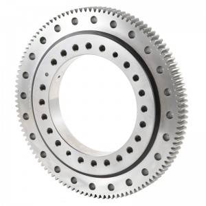XZWD | External gear Precision Crossed roller Slewing Bearing
