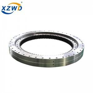 Good Wholesale Vendors Slewing Bearing Distributor - Internal gear double row different ball diameter slewing bearing 023.40.1250 – Wanda