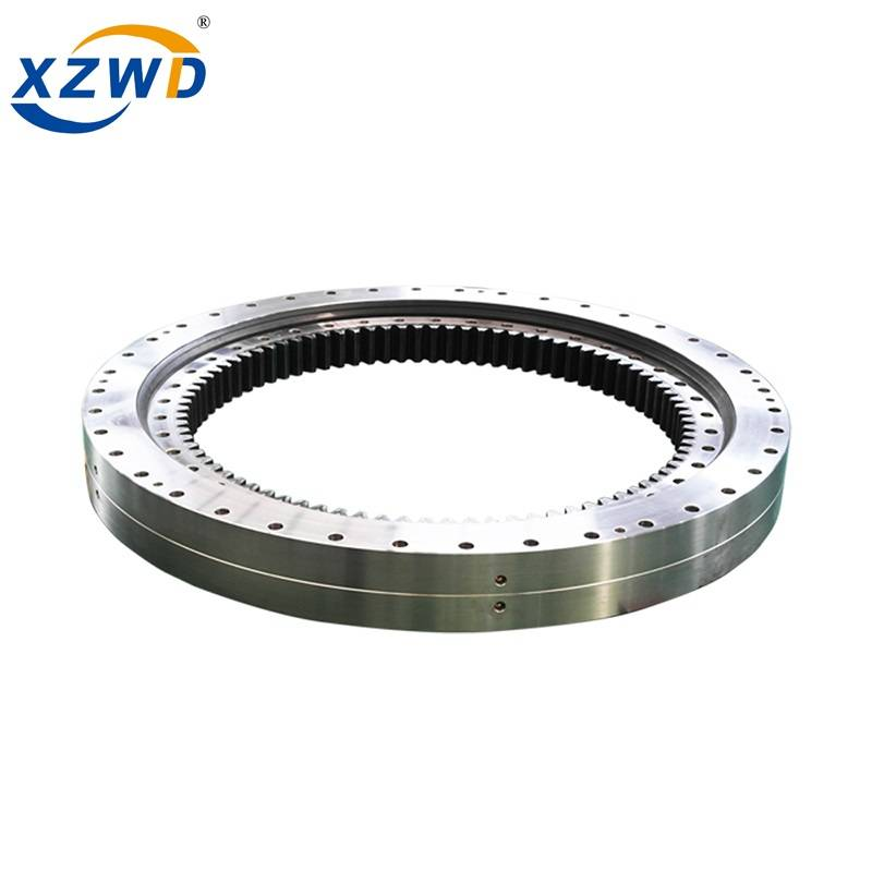 Quality Inspection for High Precision Slewing Bearing - Internal gear double row different ball diameter slewing bearing 023.40.1250 – Wanda