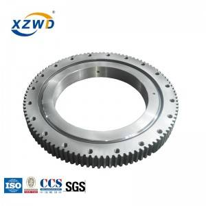 Excellent quality Heavy Duty Slewing Bearing - XZWD Single Row Crossed Roller Slewing Bearing Ring Tunnel Boring Machines – Wanda