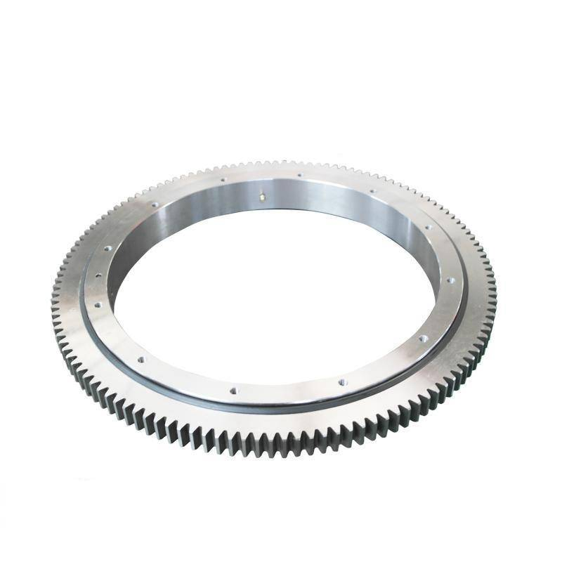 Factory wholesale Machine Slewing Bearing - Single-row cross-roller slewing ring with external gear 111 series – Wanda