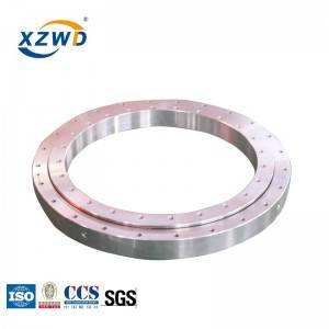Factory selling Industrial Lazy Susan Bearings - XZWD four-point contact ball bearing turntable with deformable rings – Wanda