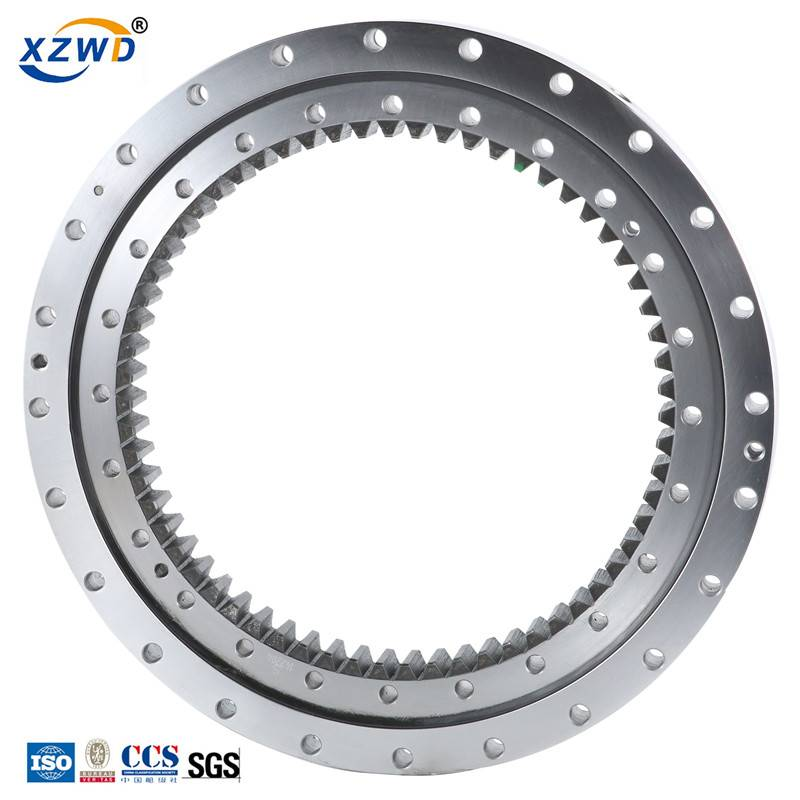 Lowest Price for Slewing Bearing Manufacturer - High quality China factory Supply Small Excavator Slewing Ring – Wanda