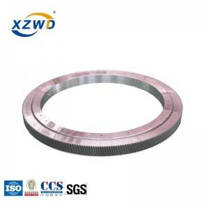XZWD high speed single row ball four point contact ball slewing bearing