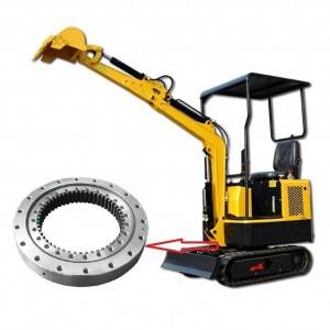 Best Price for Slewing Bearing Application - High quality China factory Supply Small Excavator Slewing Ring – Wanda