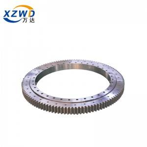 Special Price for Construction Machinery Slewing Bearing - Best price 4 point angular contact ball turntable slewing bearing | XZWD – Wanda