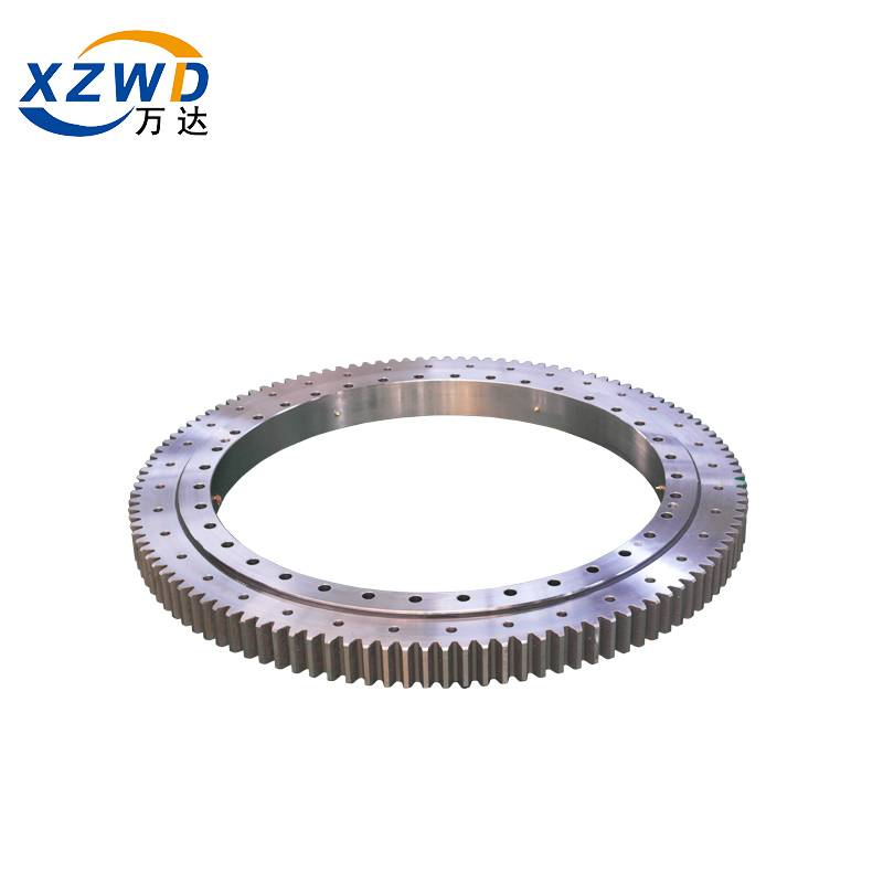 Good Quality Slew Ring - Best price 4 point angular contact ball turntable slewing bearing | XZWD – Wanda