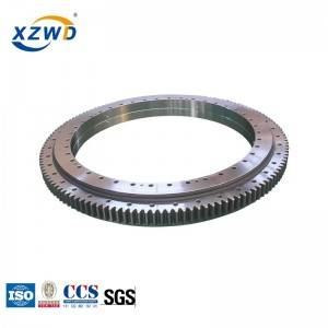 Factory making Small Turntable Bearing - double row ball slewing bearing with different ball diameter 021.40.1400 – Wanda