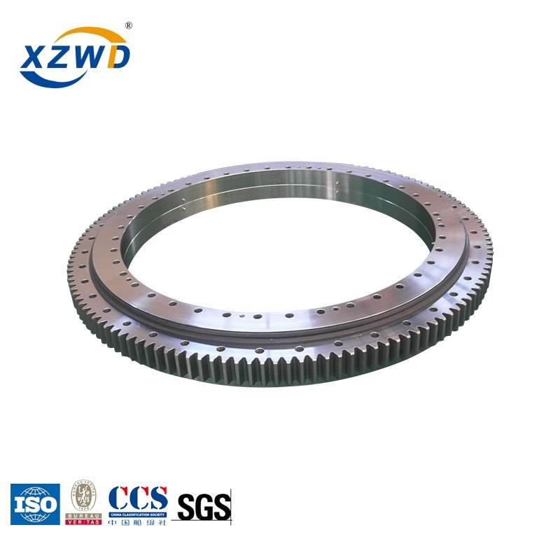 Factory source Double Row Ball Slewing Bearing - double row ball slewing bearing with different ball diameter 021.40.1400 – Wanda detail pictures