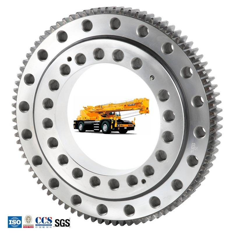 China wholesale Slewing Gear - Truck Crane Used Slewing Ring Bearing – Wanda detail pictures