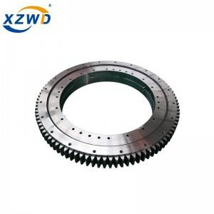 Best quality Slewing Rotary Bearing - Three row roller turntable slewing bearing external gear 131.32.800 – Wanda