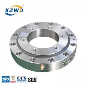 XZWD Smaller Diameter single row ball slewing bearing internal gear for replacement